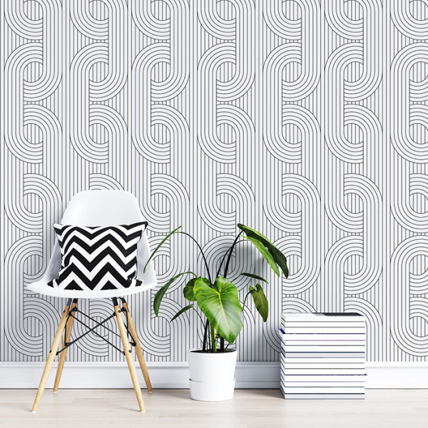 Peel And Stick Geometric Wallpapers