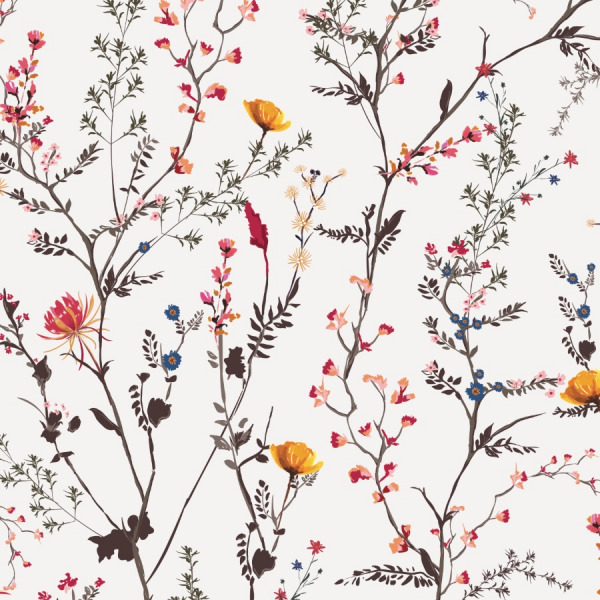 chinoiserie wallpaper peel and stick by The Wallberry