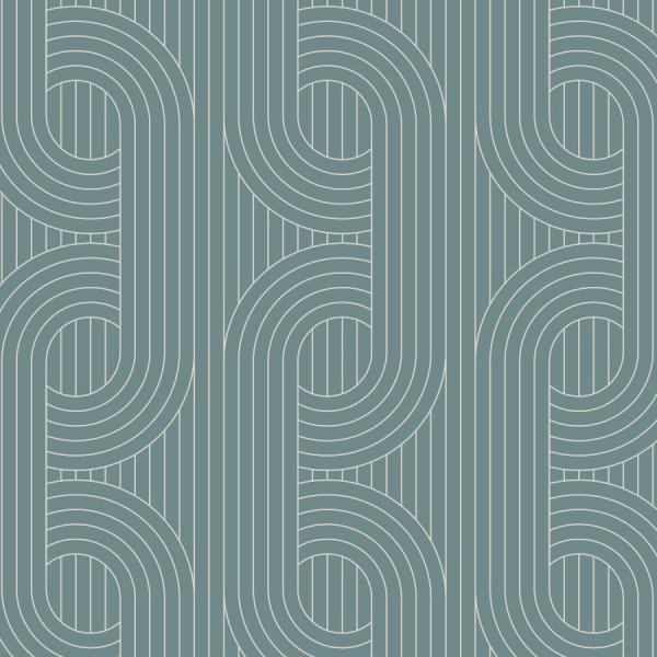 Aegan Teal Wallpaper peel and stick