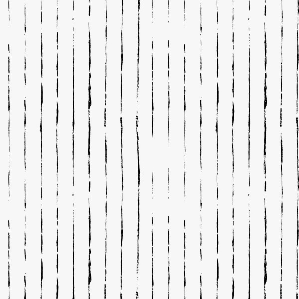 minimalist lines wallpaper in black and white self adhesive by The Wallberry