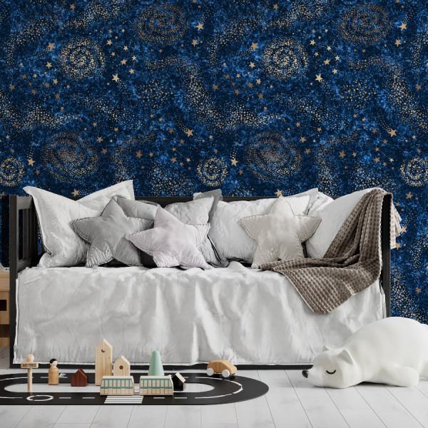 night sky wallpaper peel and stick by The Wallberry
