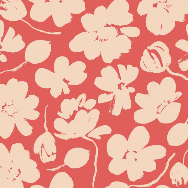 abstract poppy wallpaper