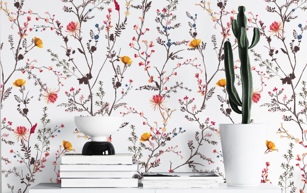 peel and stick boho wallpapers